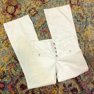 Old navy 4 button fly cotton khakis size 10